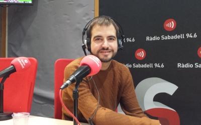 Ricard Ustrell, a Ràdio Sabadell | Pau Duran