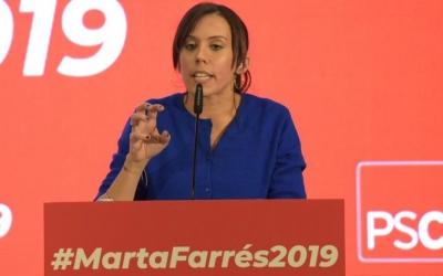 Marta Farrés, durant l'acte de presentació | Roger Benet