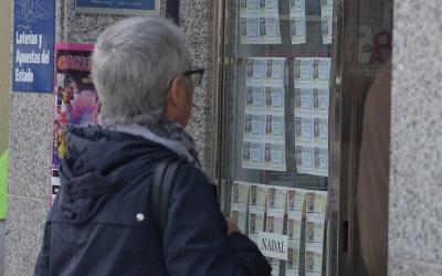 Les administracions de loteria ja estan en plena campanya de Nadal/ Roger Benet