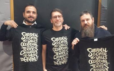 Els impulsors de Puraceba a l'estudi de Ràdio Sabadell| Pau Duran