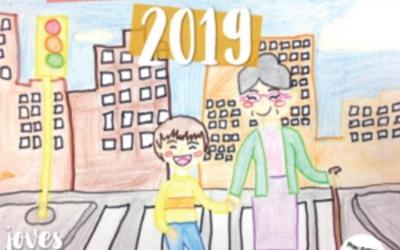 Imatge del calendari de l'AVAN per al 2019