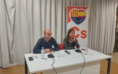 Adrián Hernández i Sonia Sierra, a la Biblioteca de Ponent | Pere Gallifa