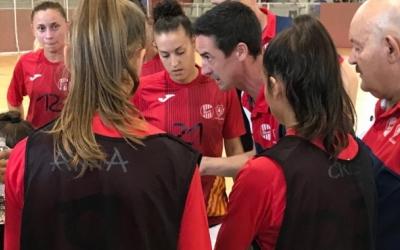 Arjona, dirigint un partit del Femisport aquesta temporada | Adrián Arroyo