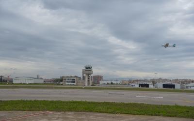 Imatge de l'Aeroport de Sabadell/ Roger Benet
