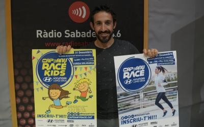 Aleix Muñío als estudis de Ràdio Sabadell | Roger Benet