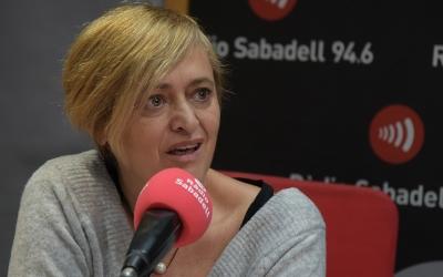 Marisol Martínez als estudis de Ràdio Sabadell aquest matí | Roger Benet