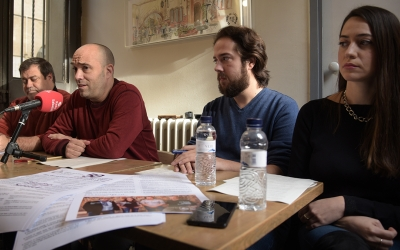 Ramon Vidal, Joan Berlanga, Eduard Navarro i Elena Hinojo | Roger Benet