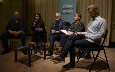 Josep Masip, Eva Abellan, Salvador Obiols, Rita Huybens i Marc Pijuan | Roger Benet