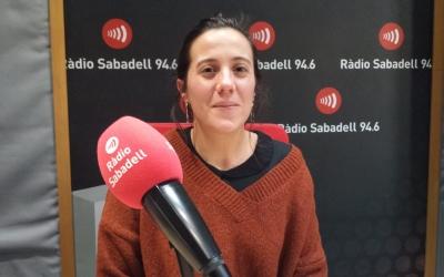 Marta Font a Ràdio Sabadell | Pau Duran