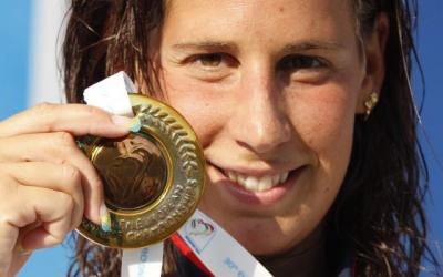 Erika Villaécija tanca a Gijón la seva etapa com a nedadora professional | Arxiu RS