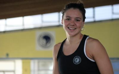 Catalina Corró, setena del món en piscina curta al Mundial de Hangzhou | Pau Vituri