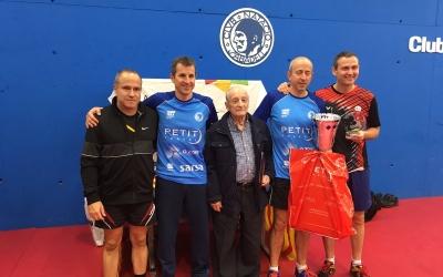Pere Weisz, amb Santi Vidal, guanyador de l'Open Santi Vidal | @CNSTennistaula
