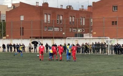 Jairo transformant el penal que li va servir al Sabadell Nord per empatar | Adrián Arroyo