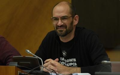 Maties Serracant durant el ple de dijous passat | Roger Benet