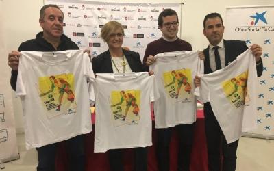Jaume Pujol, director de competició; Marisol Martínez, regidora d'Esports; Francesc Marlasca, coordinador general del torneig i Iván Quesada (Caixabank) | Marc Pijuan
