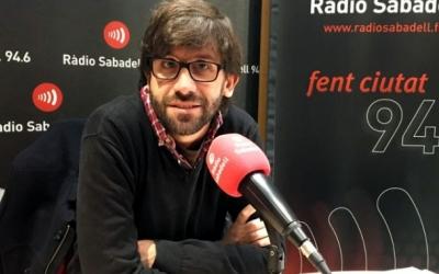 Guillem Fuster, dies abans de declarar per aquesta causa/ Ràdio Sabadell