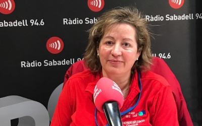 Eva Sánchez ha parlat de l'hospitalització domiciliària a Ràdio Sabadell/ Pau Duran