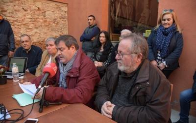 Ramon Vidal i la resta d'integrants d'Ara Sabadell/ Roger Benet