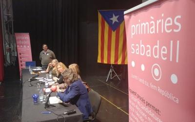 Acte de Primàries Sabadell |Pere Gallifa