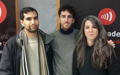 Els responsables del certamen i de l'Acadèmia de Belles Arts, al programa 'Al Matí'/ Ràdio Sabadell