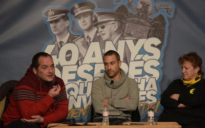 David Fernàdez, Miquel Ramos i Júlia Garcia   Roger Benet