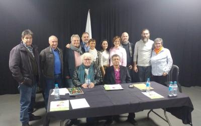 Els membres de la Plataforma Ciutadana per Sabadell | Pere Gallifa