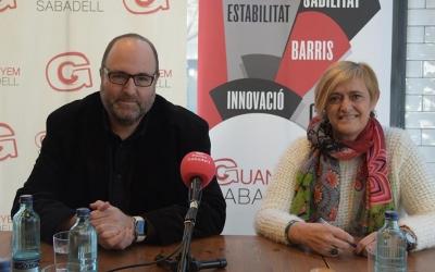 Miquel Soler i Marisol Martínez durant la roda de premsa | Roger Benet