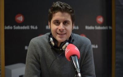 Roger Escapa als estudis de Ràdio Sabadell | Roger Benet
