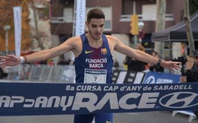Rodríguez, en el moment de creuar l'arribada | Roger Benet