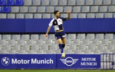 Domínguez salta per celebrar el golàs de falta de diumenge | Sendy Dihör