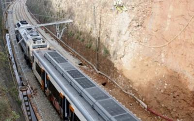 Retirada dels vagons del tren descarrilat a Vacarisses, el 22 de novembre | ACN