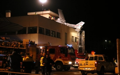 El debat sobre l'aeroport s'ha reobert amb l'accident de divendres passat/ ACN