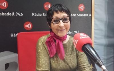 Mirna Lacambra a Ràdio Sabadell | Arxiu