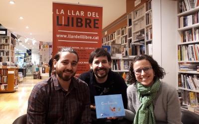 Bombardó i els responsables d'Una Onada de Petits Somriures/ Karen Madrid