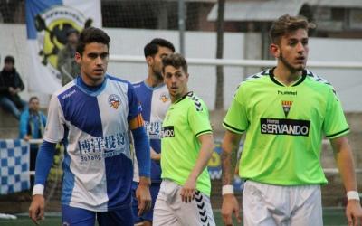 Parera excercint de capità durant la seva etapa al Sabadell B | Jesús Arroyo