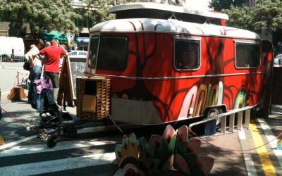 La Puck Cinema Caravana volta per tot el país/ Cedida