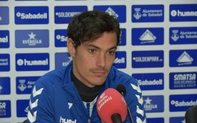 Ozkoidi està sent un dels millors jugadors del Sabadell aquesta temporada | Crispulo D.