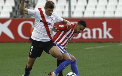 Mariano Konyk amb la samarreta del Sevilla Atlético