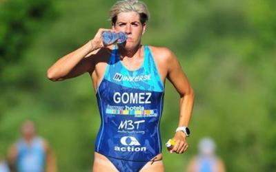 Laura Gómez al Triatló de Pálmaces | Tri Pálmaces 2018