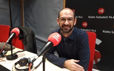 Maties Serracant a l'entrevista a Ràdio Sabadell   Núria García