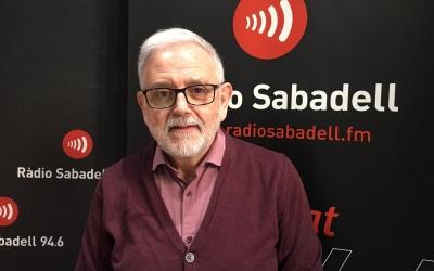 Salvador Obiols aquest matí a Ràdio Sabadell | Mireia Sans
