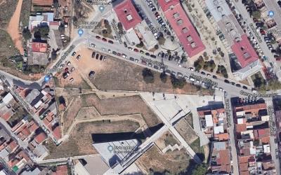 Imatge actual de la plaça Montcortès | Google Maps