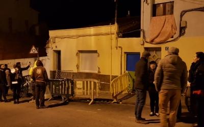 Exterior de l'habitatge afectat/ Núria Garcia