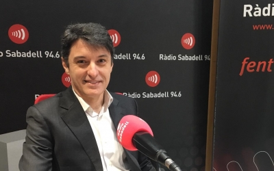 Eduard Borràs a Ràdio Sabadell | Mireia Sans
