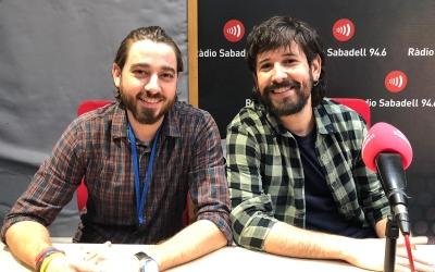 Aleix Riu i Roger Sales han exposat les novetats del projecte a Ràdio Sabadell/ Pau Duran