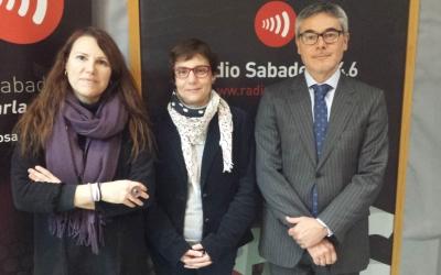 D'esquerra a dreta, Eva Abellan, Eulàlia Barros i Miquel Sánchez| Pau Duran