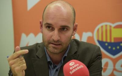 Adrián Hernández, portaveu de Ciutadans   Roger Benet
