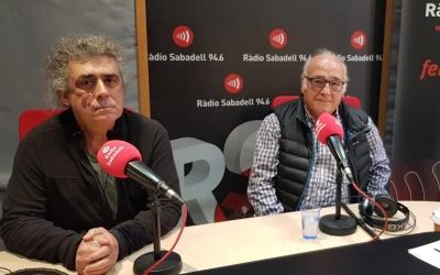 Josep Guasch i Valentí Ladera, de Nous Homes de Sabadell | Pau Duran