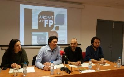 Míriam Ferràndiz, Xavier Tejedor, Joan Berlanga, Edu Navarro presentant el certamen | Roger Benet