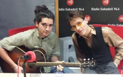 Max Tuset i Pere Martí als estudis de Ràdio Sabadell | Pau Duran